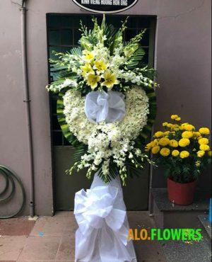 Hoa viếng đám tang Hà Nội
