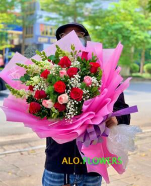 cửa hàng hoa xuân đỉnh